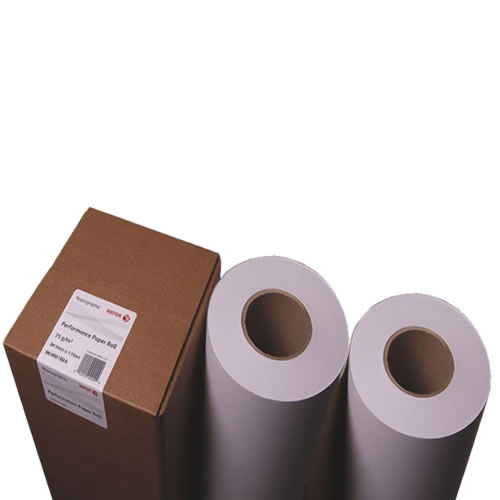 "Xerox PPC Plain Paper Roll - 75gsm - A1 594mm x 150mt - Untaped at 3"" inch core - 003R95985 - Twin Pack"