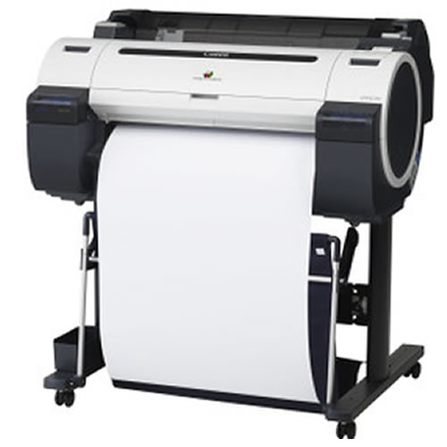 GDS Standard Inkjet CAD Plotter Paper Roll for techincal line drawings - 90gsm 610mm x 90mt - Suitable for Canon iPF670 printer