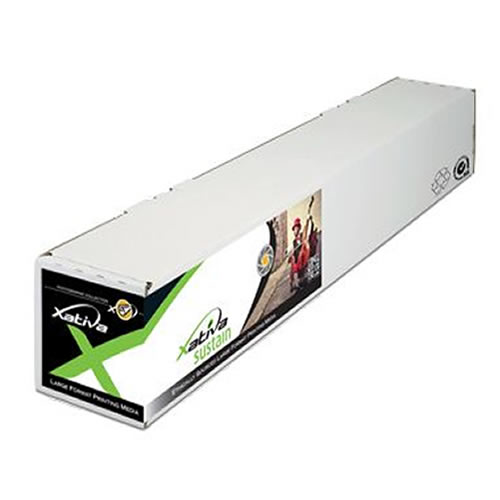 "Xativa X-Press Satin Photo Paper Roll 190gsm 24"" inch A1 610mm x 50mt XPPSP190-24"