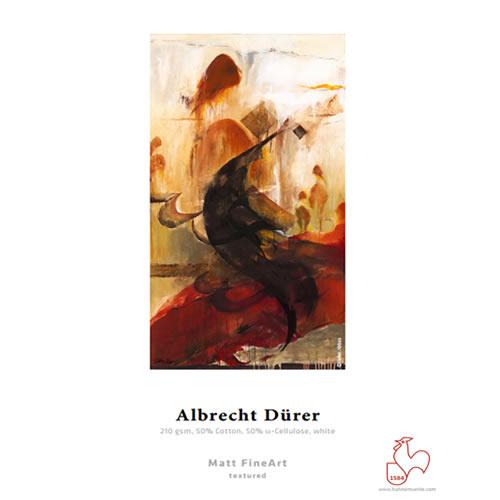 "Hahnemühle Albrecht Dürer 210gsm - Digital Fine Art Paper Media Roll - 24"" inch - 610mm x 12mt  - 10643108"