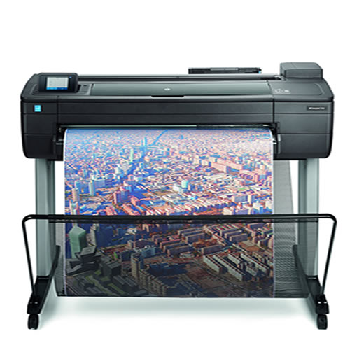 "NEW HP DesignJet T730 Printer - 36"" inch A0 CAD & General Purpose Wi-Fi Enabled AirPrinter"