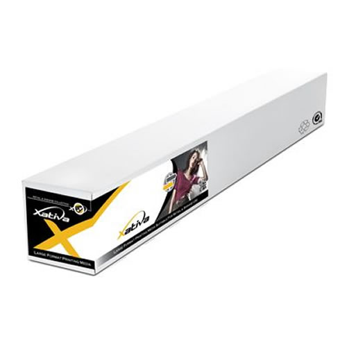 "Xativa Front Print Backlit Film for lightbox displays - 280 micron - 220gsm - 42"" inch - 1067mm x 30mt - XBFP250-42 - express delivery from GDS - Graphic Design Supplies Ltd"