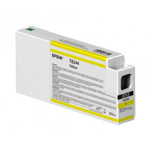 Epson T824400 Yellow Ink Cartridge - 350ml Tank - C13T824400 - for Epson SureColor SC-P6000, SC-P7000, SC-P8000 & SC-P9000 wide format graphics printers, available from stock for immediate dispatch from GDS Graphic Design Supplies Ltd