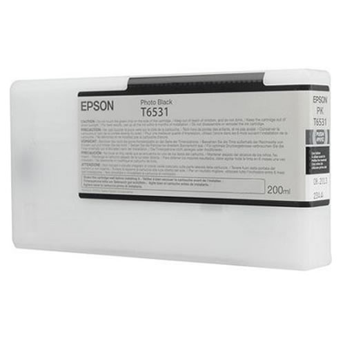 Epson T653100 Photo Black Ink Tank 200ml Cartridge C13T653100 for Epson Stylus Pro 4900 printers