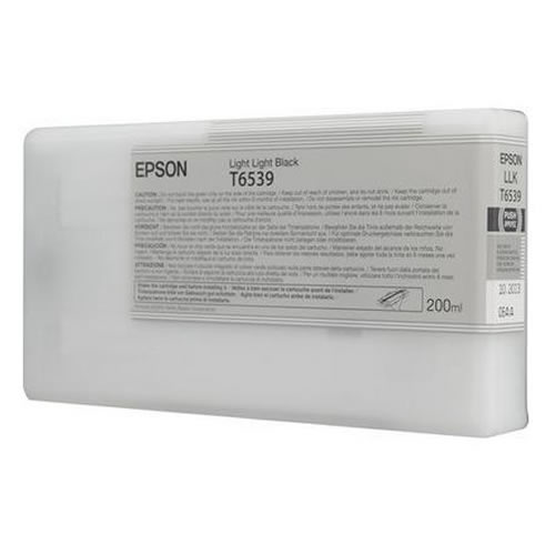 Epson T653900 Light Light Black Ink Tank 200ml Cartridge C13T653900 for Epson Stylus Pro 4900 printers  - in stock next day delivery GDS Graphic Design Supplies