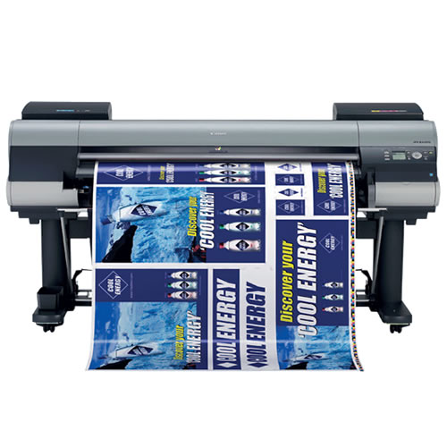 "Canon imagePROGRAF iPF8400S Printer - 44"" inch A0 High Speed Poster / Banner / Canvas Production Printer with 250GB Harddrive delivered installed and supported long term by Canon's favourite wide format partner GDS Graphic Design Supplies"