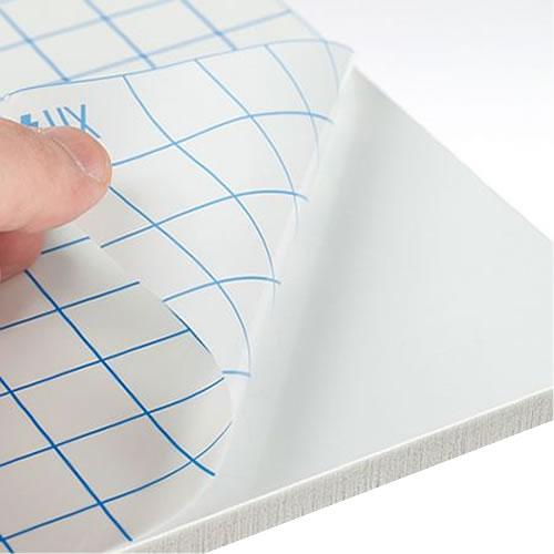 KapaFix 1 Side - Self Adhesive White Foam Board - 5mm 700mm x 1000mm - Pack of 24 sheets