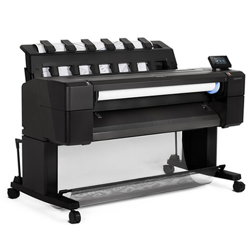 """HP DesignJet T930 Printer - 36"""" inch A0 CAD & General Purpose Wi-Fi Enabled Wide Format Printer - L2Y21A"""