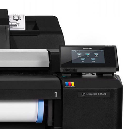 "HP DesignJet T2530PS eMFP - A0 36"" inch - Colour Dual Roll Printer Scanner Copier - L2Y26A"