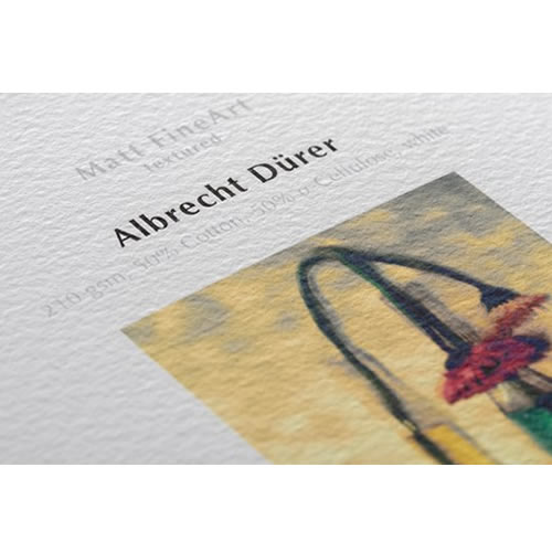 Hahnemühle Albrecht Dürer 210gsm - Digital Fine Art Paper Media - A4 x 25 sheets - 10641631