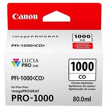 Canon PFI-1000CO Chroma Optimiser Tank - 80ml Cartridge - for Canon PRO-1000 Photo Printer - 0556C001  - from GDS | Graphic Design Supplies Ltd