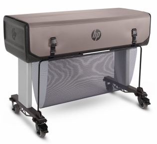 HP Rugged Case Closed - Transport Protection Case for the HP DesignJet T730 and HP DesignJet T830 - N9M07A - from GDS | Graphic Design Supplies Ltd