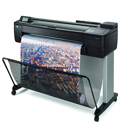 "HP DesignJet T730 Printer - 36"" inch A0 CAD & General Purpose Wi-Fi Enabled Plotter - F9A29A"