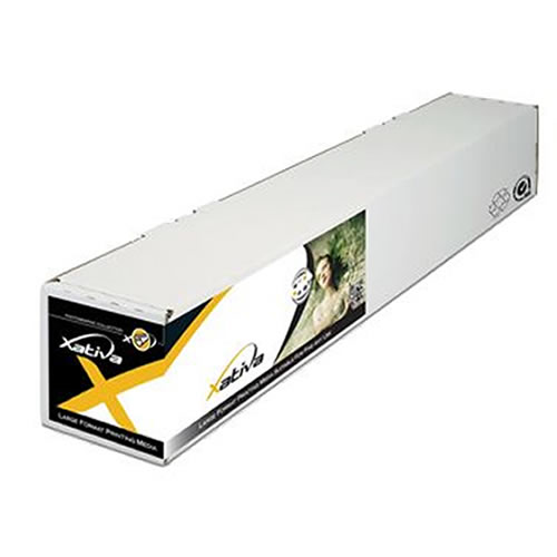 "Xativa Bright White Canvas Roll - 350gsm - 42"" inch - 1067mm x 15mt - XBWC350-42 - from GDS Graphic Design Supplies Ltd"