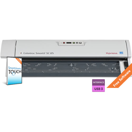 Colortrac SmartLF SC 25e Scanner - 25 inch A1 Express Colour CIS Document Scanner - FREE Software