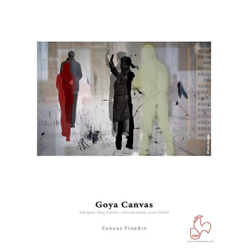 "Hahnemuhle Goya Canvas 340gsm - Digital Fine Art Canvas Media Roll - 24"" inch x 12mt  - 10643367 - from GDS Graphic Design Supplies Ltd"
