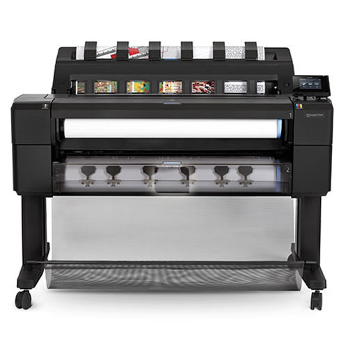 """HP DesignJet T1530PS HDD Printer - 36"""" inch A0 Dual Roll CAD Technical Plotter - L2Y24B"""