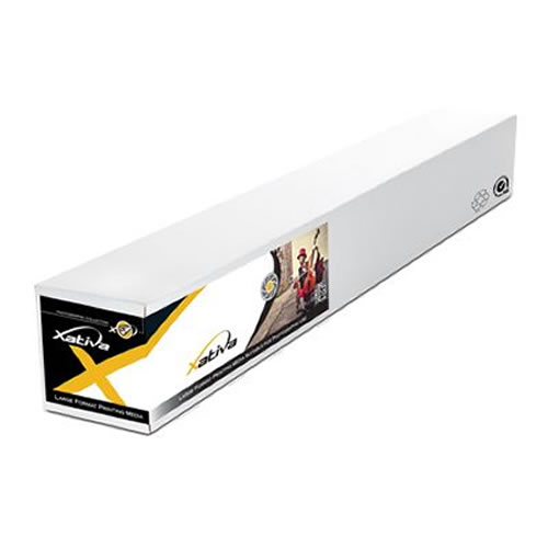 """Xativa X-Press Lustre Pro Photo Paper Roll - 200gsm - 42"""" inch - 1067mm x 60mt - XPLPRO200-42-60 - express delivery from GDS - Graphic Design Supplies Ltd"""