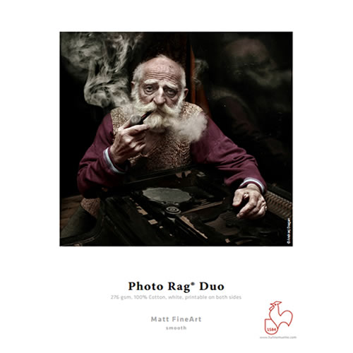 Hahnemühle Photo Rag® Duo 276gsm - Digital Fine Art Cotton Paper Media - A3+ x 25 sheets - 10641605 - express delivery from GDS - Graphic Design Supplies Ltd