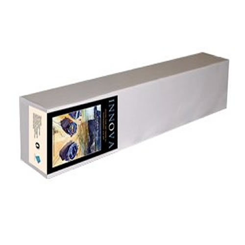 """Innova Fine Art Soft Textured Natural White Paper Roll - 190gsm - 44"""" inch - 1118mm x 15mt - IFA-06-1118x15 - express delivery from GDS - Graphic Design Supplies Ltd"""