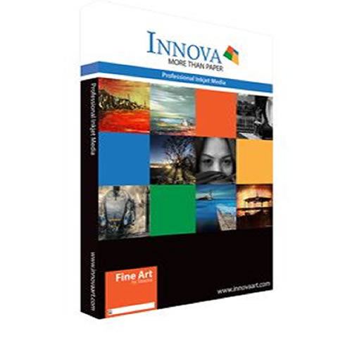 Innova Fine Art Soft Textured Natural White Paper Sheets - 190gsm - A3+ x 50 sheets - IFA-06-A3+-50 - express delivery from GDS - Graphic Design Supplies Ltd