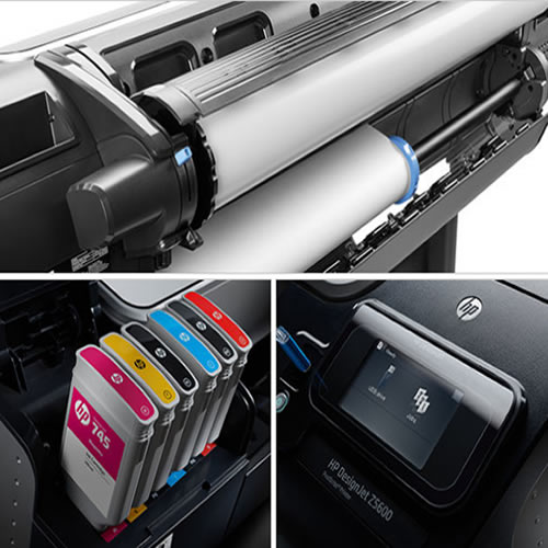 "HP DesignJet Z5600PS Printer - 44"" inch - B0 - 6 Colour - Photo & Graphics Postscript Printer - T0B51A"