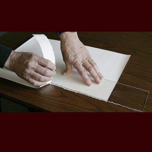 Deckle Edge Ripper 620mm - Create rough or feathered edges on your artwork