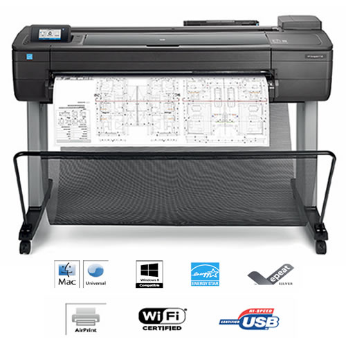 HP DesignJet T730 Printer - features