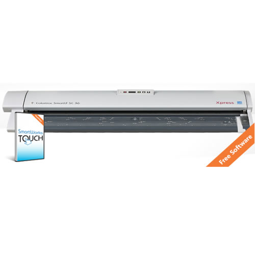 Colortrac SmartLF SC 36e A0 High Speed Express Colour Document Scanner with FREE Software