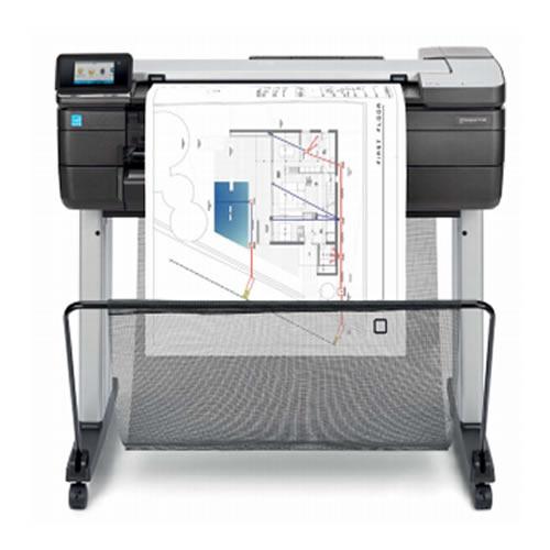 "HP DesignJet T830 MFP - 24"" inch - A1 - 4 Colour - CAD & General Purpose Wide Format Printer/Plotter | Scanner | Copier | MFP - F9A28A"