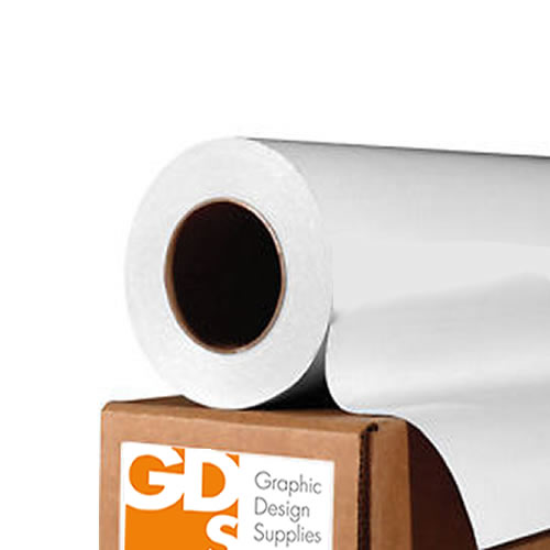 "GDS Gloss White Self Adhesive Vinyl Roll | 80 micron | 24"" inch 