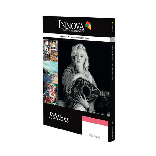 Innova Photo Cotton Rag Paper Sheet - 315gsm - A2 x 50 sheets - IFA-11-A2-50 - express delivery from GDS - Graphic Design Supplies Ltd