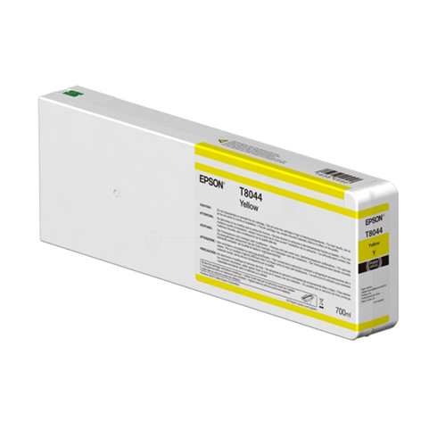 Epson T804400 Ink Cartridge | 700ml Tank | Yellow | C13T804400 | for Epson SureColor SC-P6000, SC-P7000, SC-P8000 & SC-P9000 Printers
