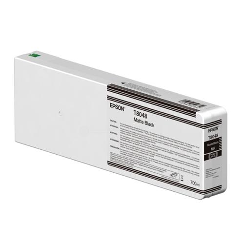 Epson T804800 Ink Cartridge | 700ml Tank | Matt Black | C13T804800 | for Epson SureColor SC-P6000, SC-P7000, SC-P8000 & SC-P9000 Printers