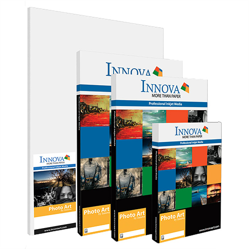 Innova FibaPrint Ultra Smooth Gloss Paper Sheets - 285gsm - A2 x 50 sheets - IFA-49-A2-50