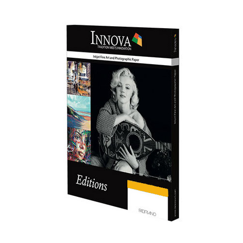 Innova Exhibition Cotton Gloss Paper Sheets - 335gsm - A3 x 50 sheets - IFA-45-A3-50 - express delivery from GDS - Graphic Design Supplies Ltd