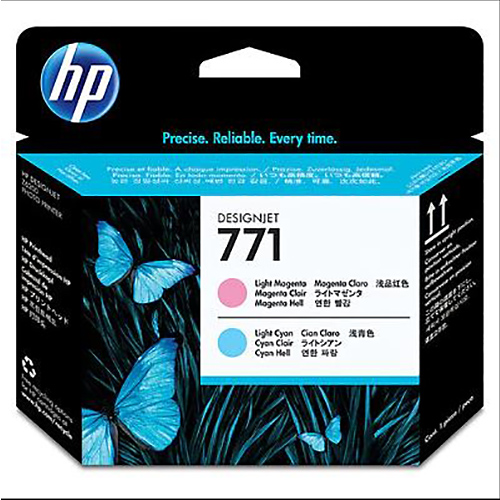 HP 771 Printhead - Light Magenta & Light Cyan - for Z6200 & Z6600 & Z6800 Printers - CE019A