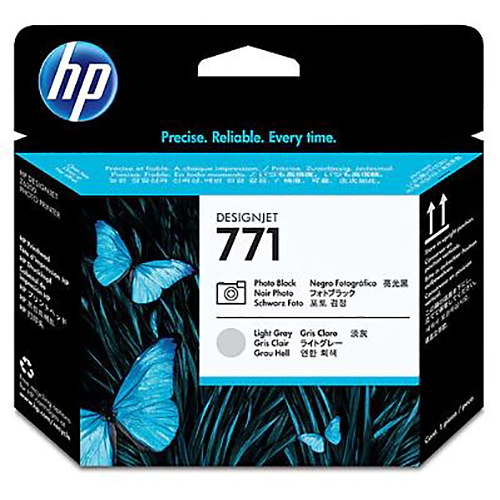 HP 771 Printhead - Photo Black & Light Grey - for Z6200 & Z6600 & Z6800 Printers - CE020A