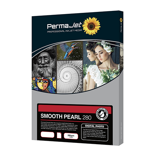 PermaJet Smooth Pearl 280 Digital Photo Paper Sheets - 280gsm - A4 x 1000 sheets - APJ50719
