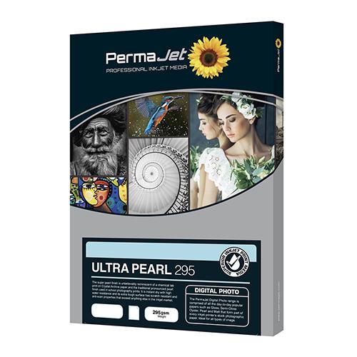 PermaJet Ultra Pearl 295 Digital Photo Paper Sheets - 295gsm - A3+ x 50 sheets - 51034