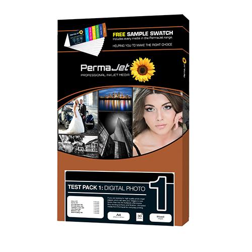 PermaJet Digital Photo Paper - Test Pack 1 - A4 - 27 Sheets - APJ20040