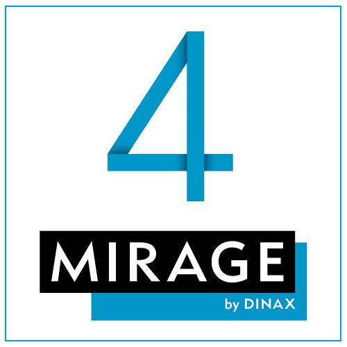 Mirage 4 by Dinax | Print Software Master Edition for Canon | For Canon TX-Series Printers | Dongle Version