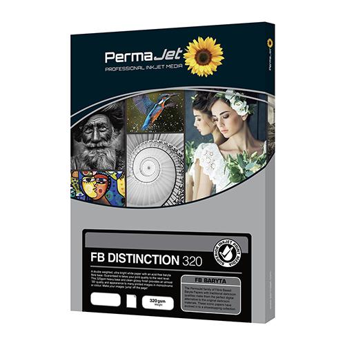 PermaJet FB Distinction 320 Paper Sheets - 320gsm - A3 x 25 sheets - APJ64223