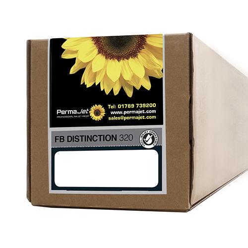 "PermaJet FB Distinction 320 Paper Roll - 320gsm - 17"" inch - 432mm x 15mt - APJ64258"