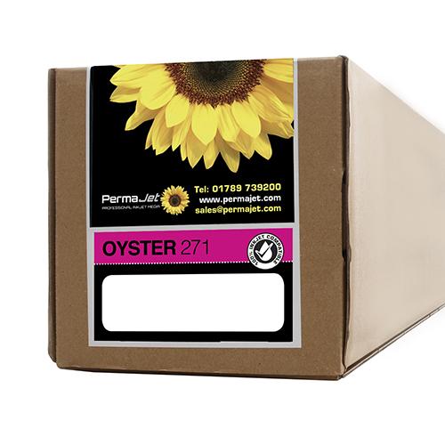"PermaJet Oyster 271 Digital Photo Paper Roll - 271gsm - 17"" inch - 432mm x 30mt - APJ50959"