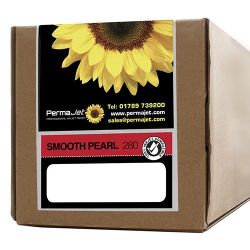 "PermaJet Smooth Pearl 280 Digital Photo Paper Roll - 280gsm - 17"" inch - 432mm x 30mt - APJ50758"