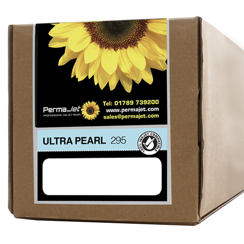 """PermaJet Ultra Pearl 295 Digital Photo Paper Roll - 295gsm - 17"""" inch - 432mm x 30mt - APJ51058"""