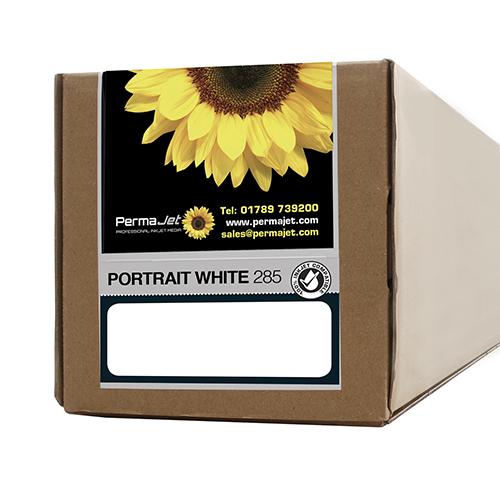 "PermaJet Portrait White 285 Paper Roll - 285gsm - 24"" inch - 610mm x 15mt - APJ22269"