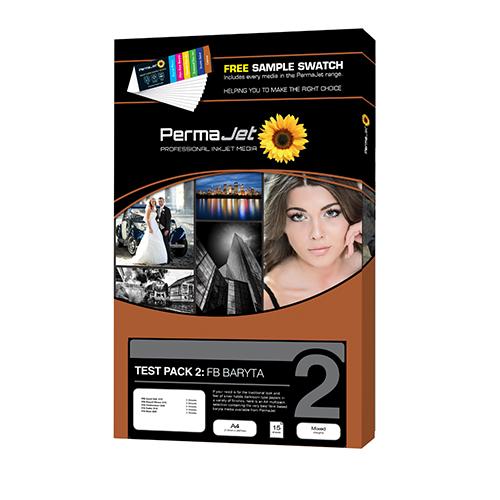 PermaJet FB Baryta Paper - Test Pack 2 - A4 - 18 Sheets - APJ20046