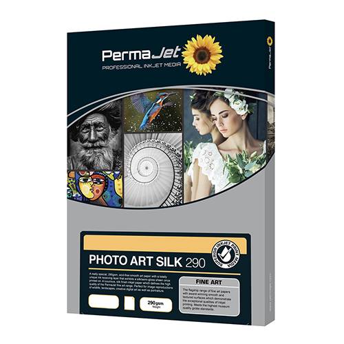 PermaJet Photo Art Silk 290 Paper Sheets - 290gsm - A3+ x 25 sheets - APJ62533